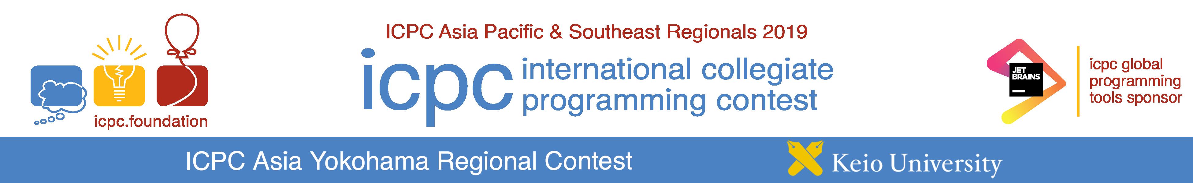 ICPC 2019 Asia Yokohama Regional