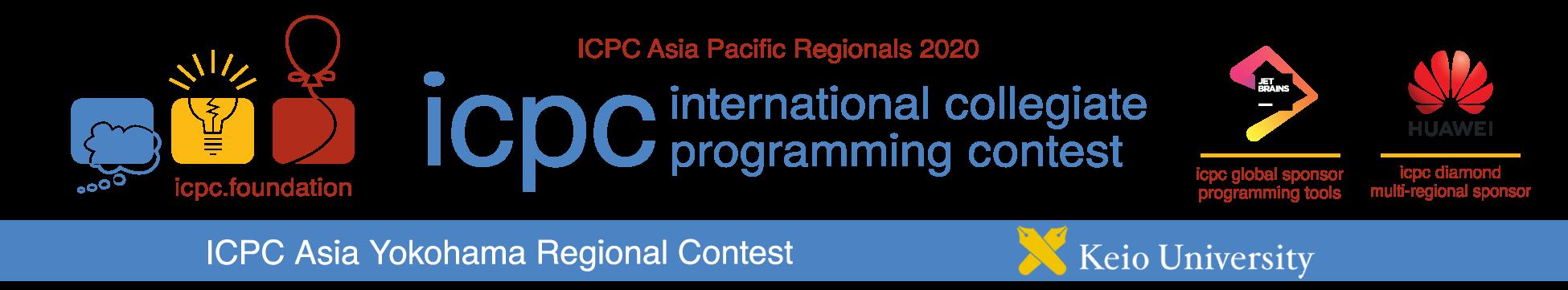 ICPC 2020 Asia Yokohama Regional